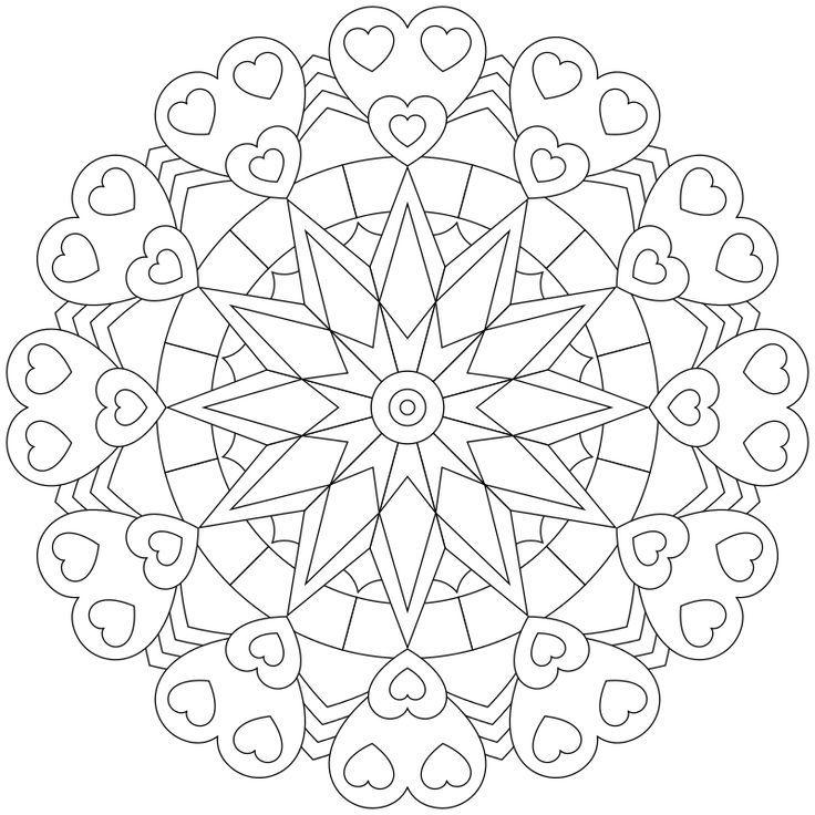 neues mandalamalbild erstellt und hochgeladen viel spass