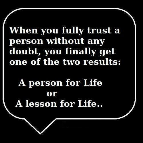 A person for life :)