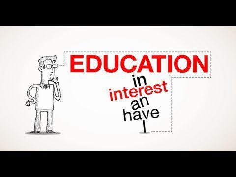 On Creativity & Education - Animation of Sir Ken Robinson's TEDtalk