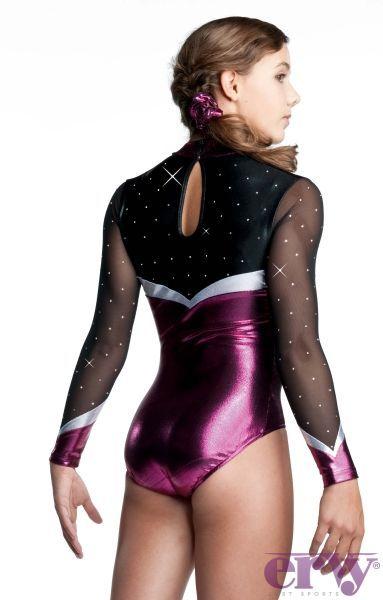 0bfb834c9283a7 Shiny metallic leotards for girls | Gymnastics Leotards | Leos ...