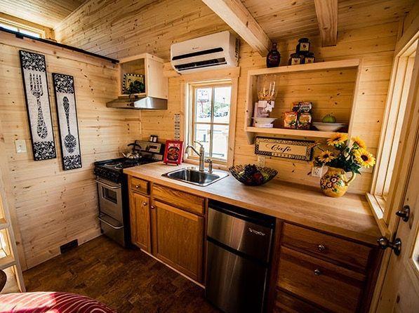 Tumbleweed Tiny House Interior linden 20 horizon tumbleweed tiny house on wheels 002 | simple