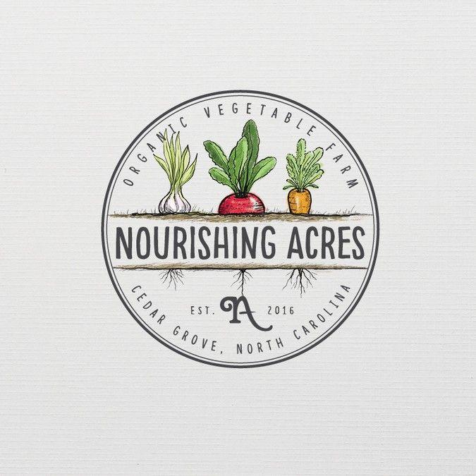 nourishingacresfarm picked a winning design in their logo