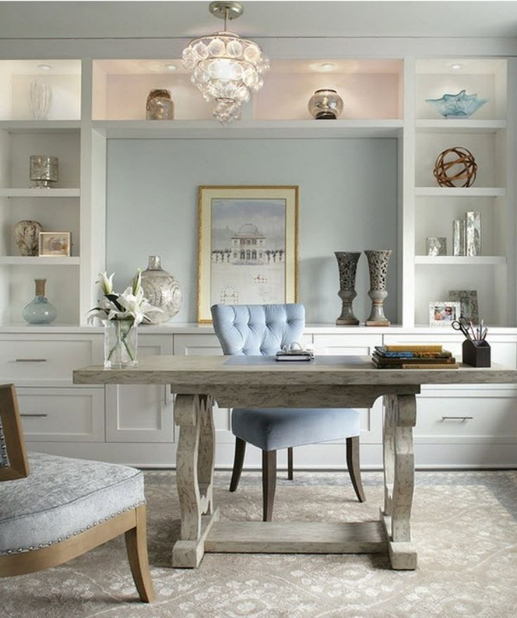 20 Inspiring Home Office Design Ideas For Small Spaces: 10 + Helpful Home Office Storage And Organizing Ideas