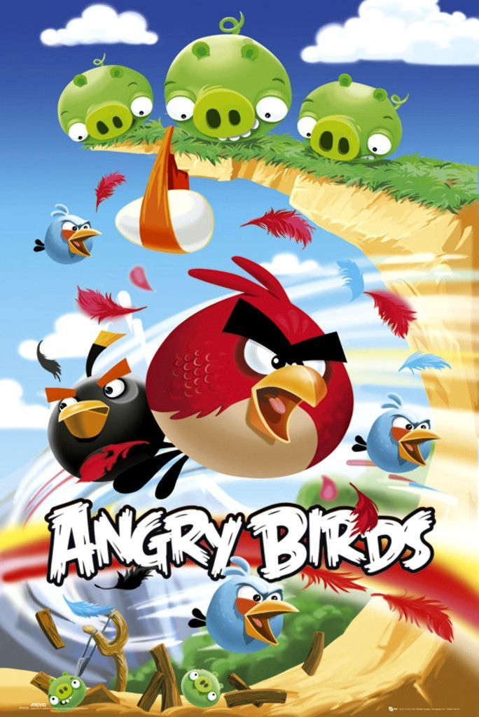 Angry Birds Attack Official Poster Angry Birds Angry Birds Movie Bird Poster