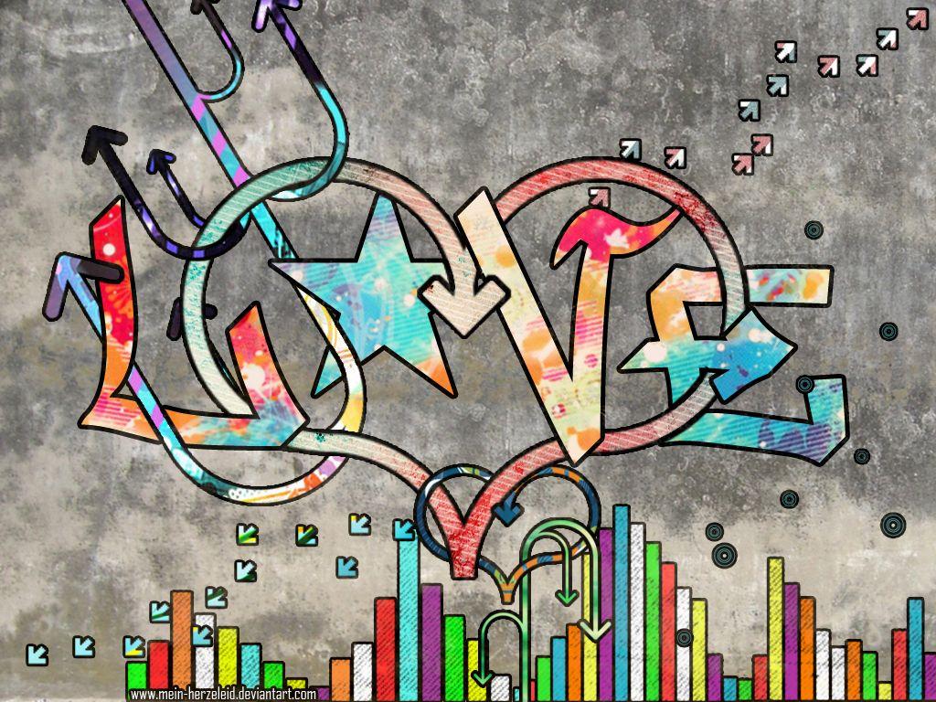 Love Graffiti Art