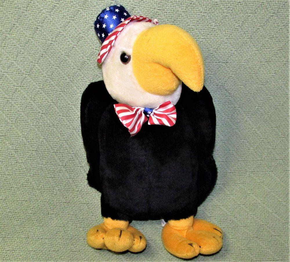 14 Plush Appeal American Eagle Stuffed Animal Bird Louisiana Mardi