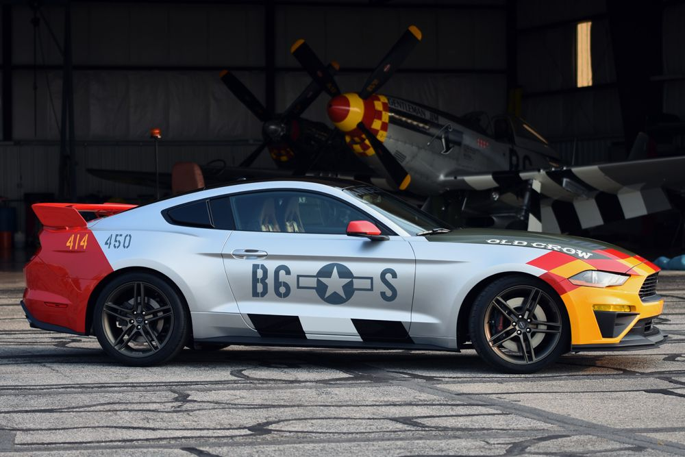 Auction Block 2019 Ford X Roush Performance Mustang Gt Old Crow