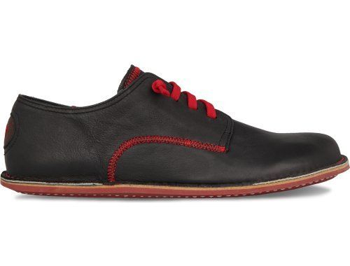 81884642f45a3c Peu Ideal comes as a black lace up shoe made of leather with a slight  nubuck finish.