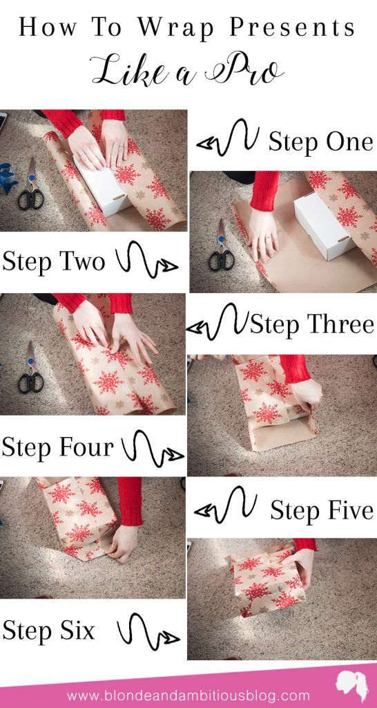 How To Wrap Christmas Presents.How To Wrap Christmas Presents Like A Pro Blonde And