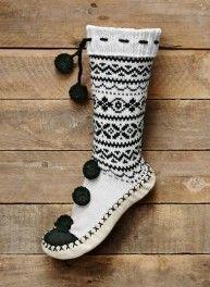 """Résultat de recherche d'images pour """"chaussettes jacquard tricot"""""""