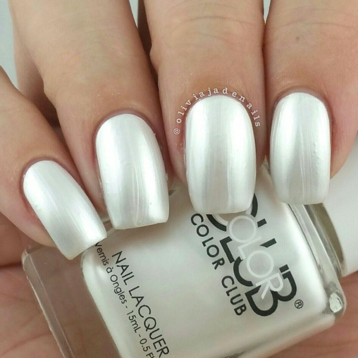 Color Club Winter White Color Club Nail Polish Color Club Nail