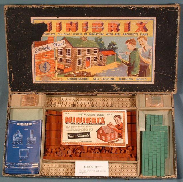 Vintage Building Toy - Minibrix
