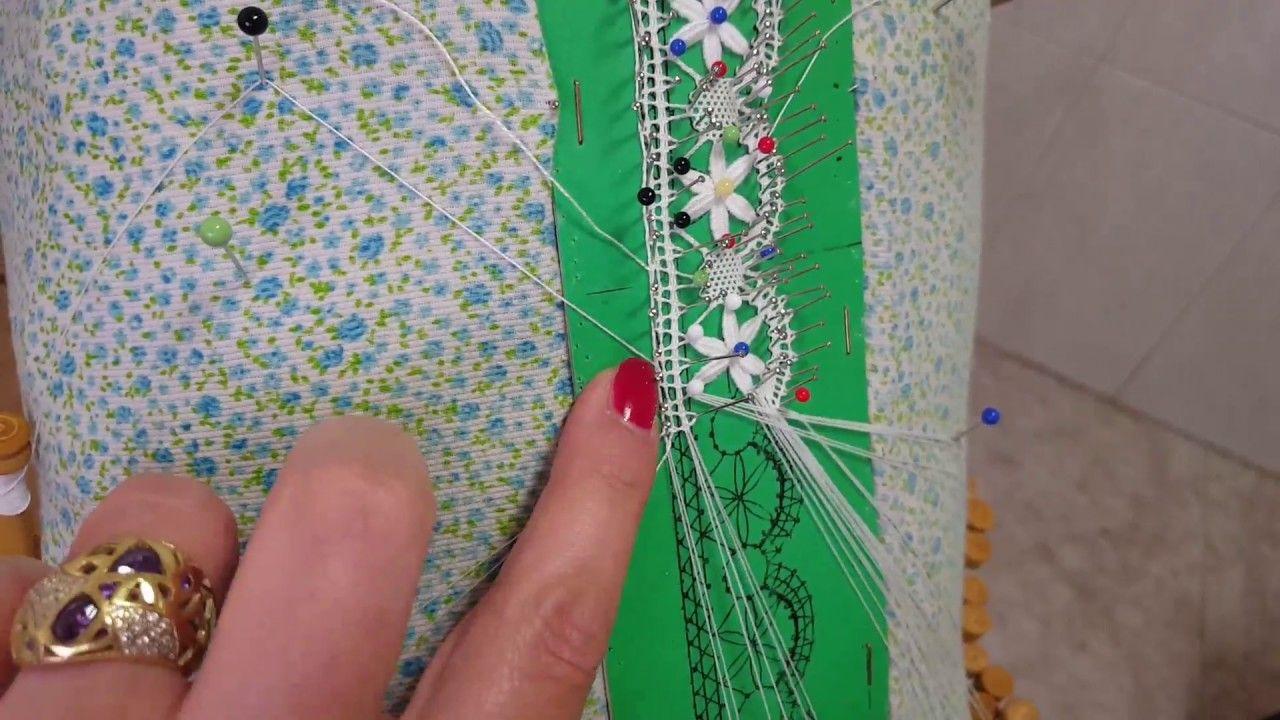 Puntilla Florecitas,cómo Sustituir Un Bolillos Con Poco Hilo 1