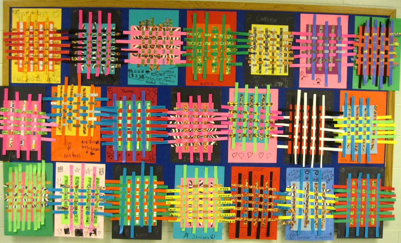 Elementary Art Weaving There S A Dragon In My Art Room