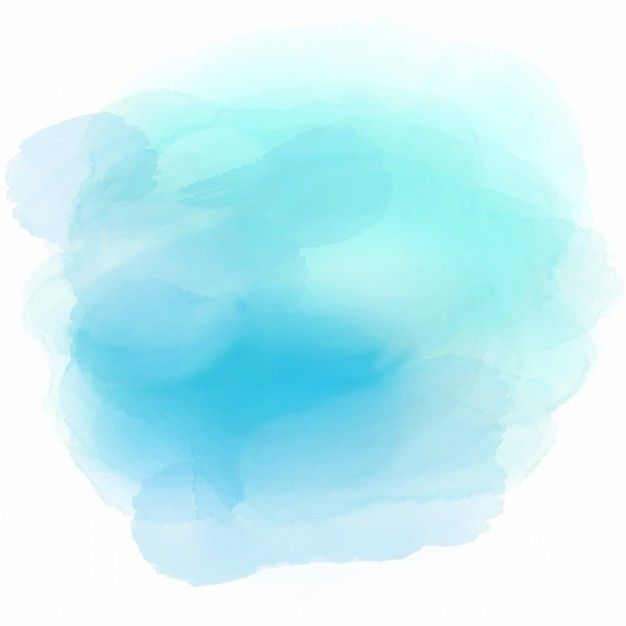 Download Soft Background With A Cute Blue Watercolor Stain For