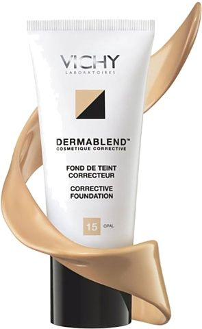 Vichy Dermablend Dermasmooth Corrective Foundation Dermablend Skin Imperfection Vichy