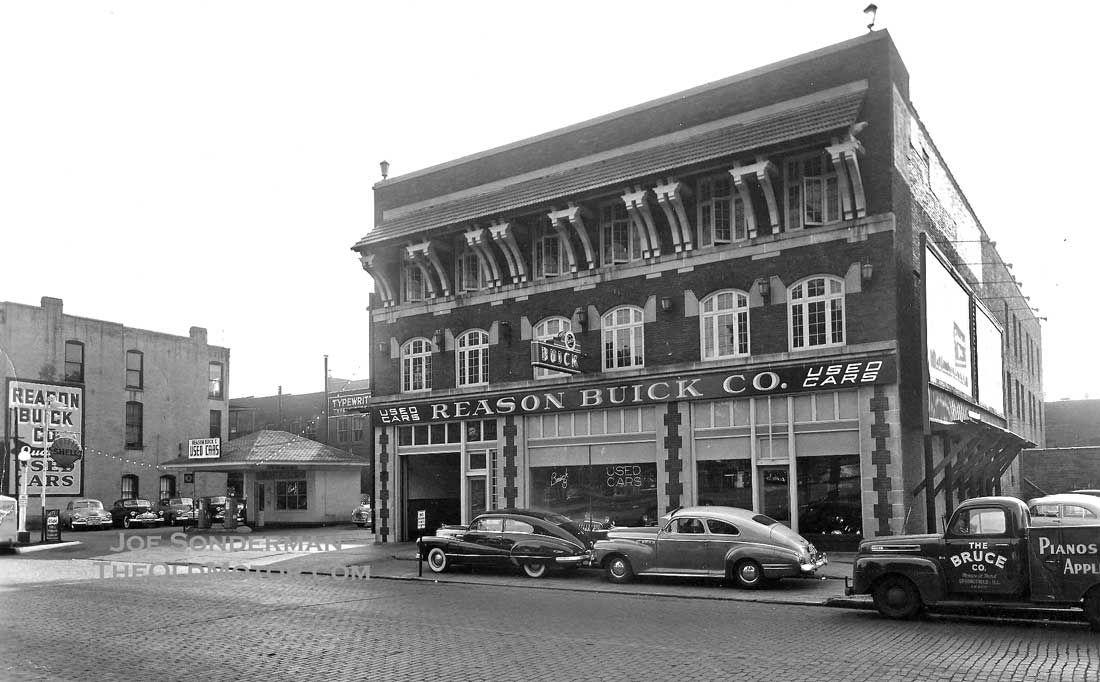 1950 Reason Buick Co. Dealership, Springfield, Illinois