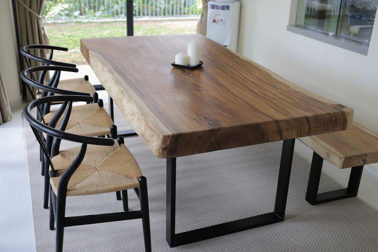 Suar Wood Table X Herman Furniture Singapore Wood Slab