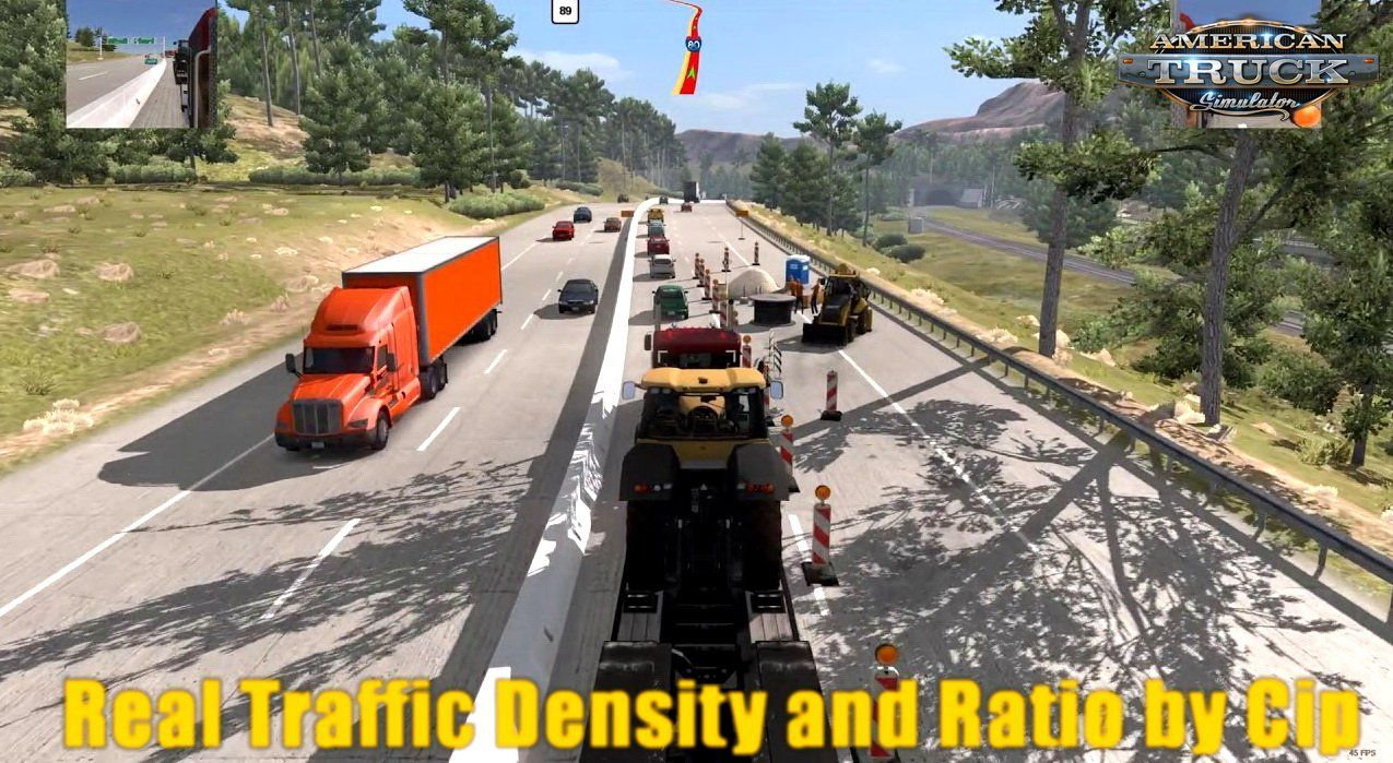 Real Traffic Density and Ratio v1 35C by Cip (1 35 x) for