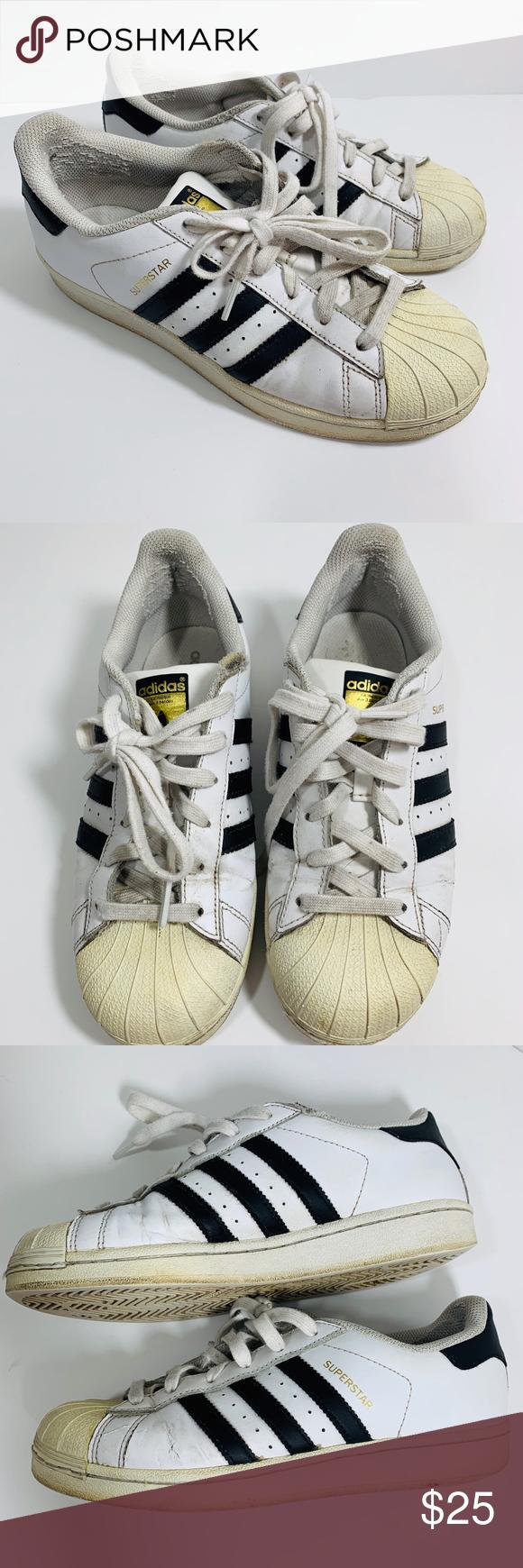 Adidas Superstar Sneakers White 7 | Sneakers white, Adidas ...
