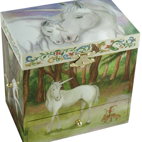 Horse Jewelry Box Unicorn Horse Musical Jewellery Box  Beautiful Horsey Jewellery