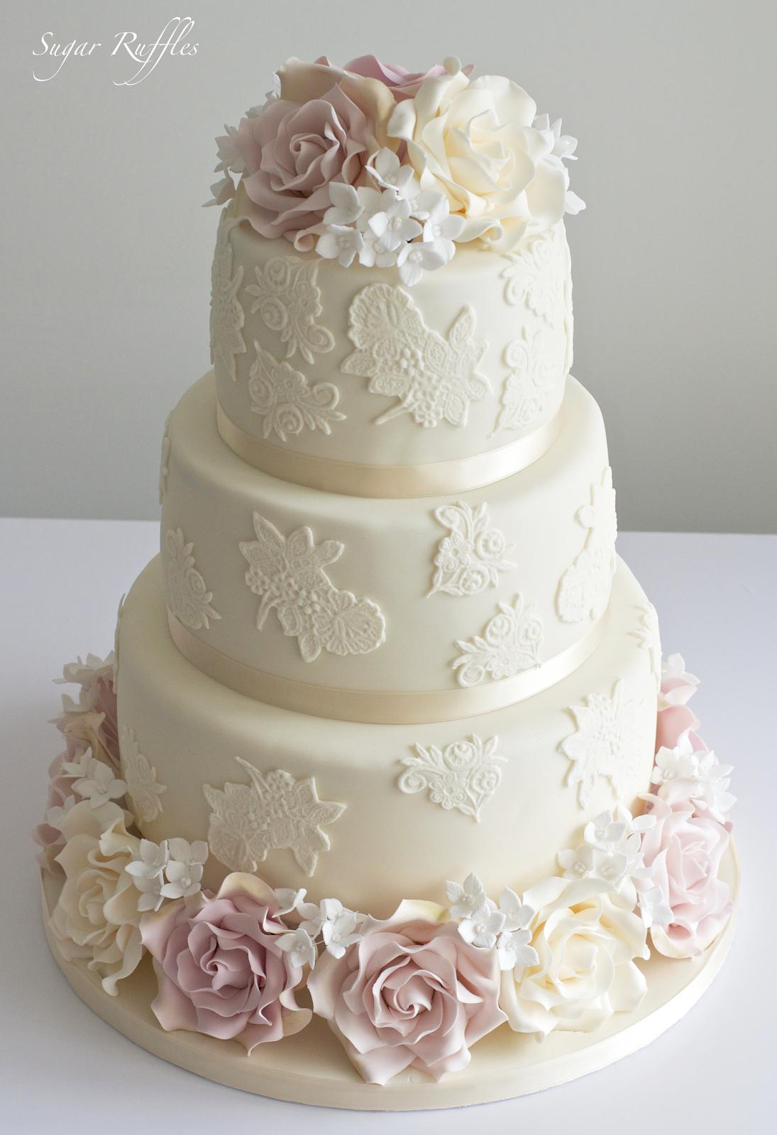 Indian Weddings Inspirations Ivory Wedding Cake Repinned By Indianweddingsmag