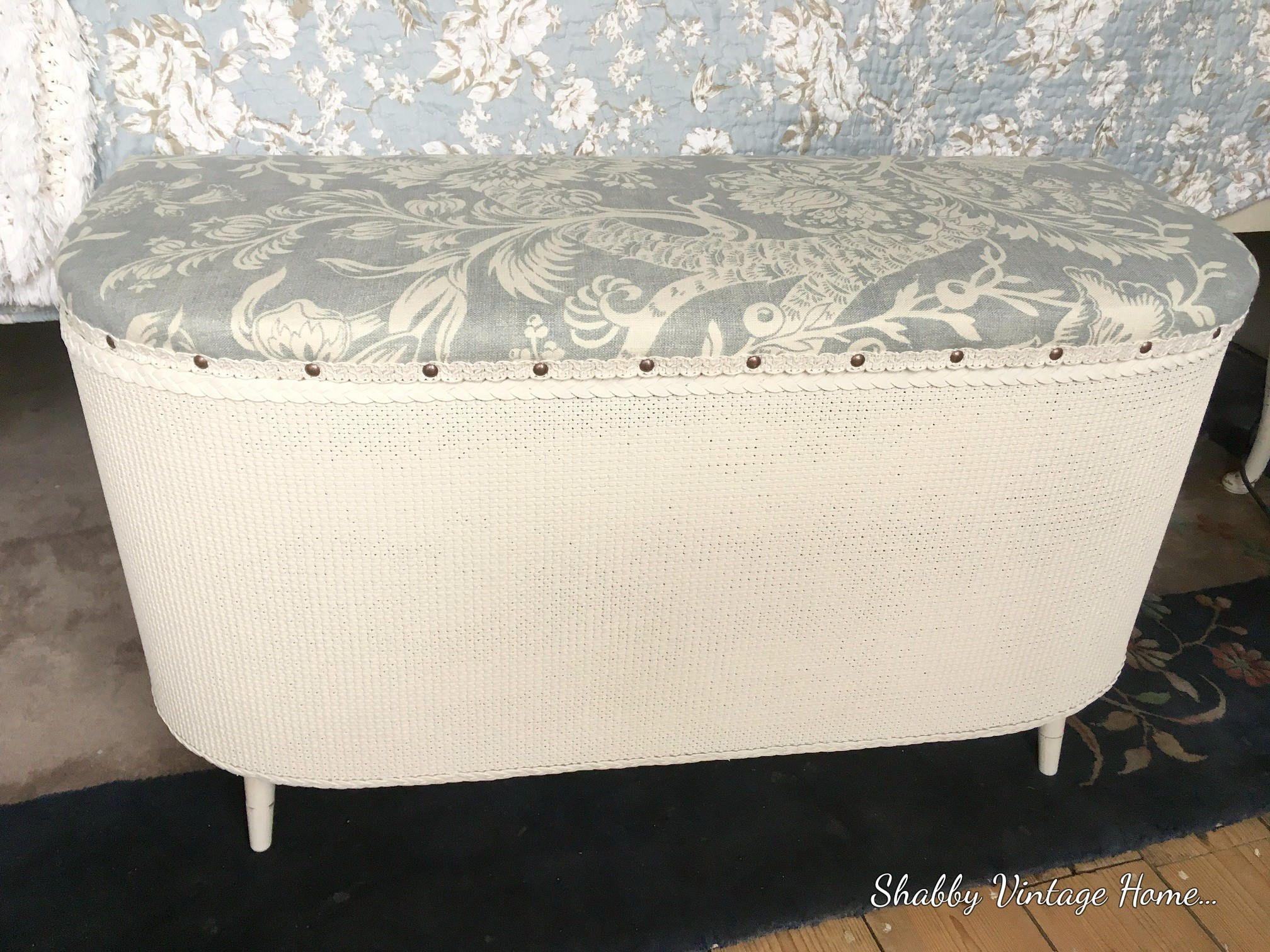 Incredible Vintage Loom Blanket Box Retro Storage Ottoman Foot Stool Inzonedesignstudio Interior Chair Design Inzonedesignstudiocom