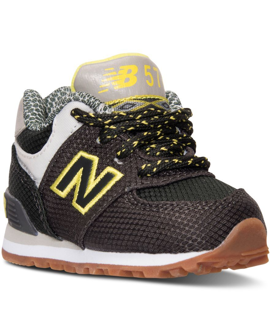 new balance boys' 574 casual sneakers