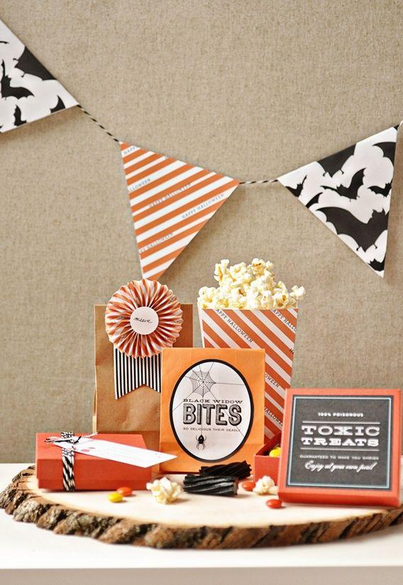 A Spooky Soiree}: A Palette of Orange, Black + White! | Free ...