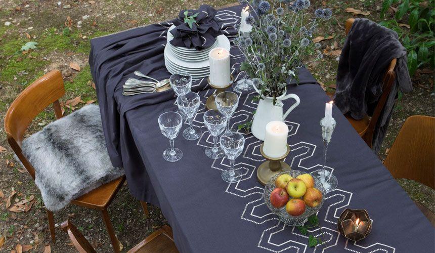 Quelle Nappe Pour Decorer Ma Table De Jardin Table De Jardin Nappe Nappe De Table