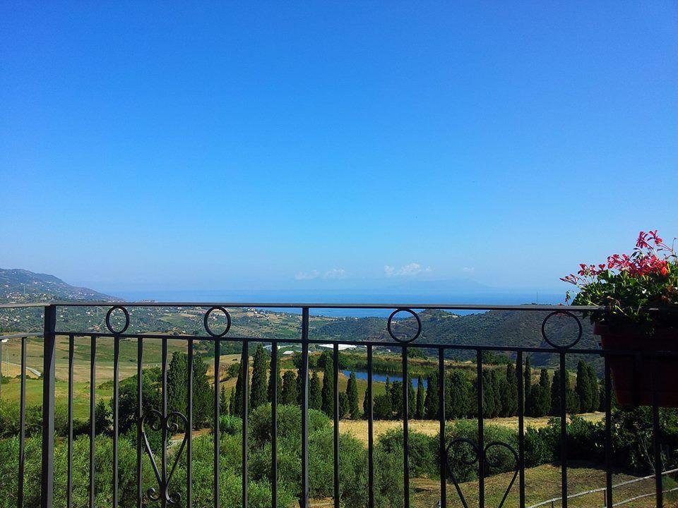 Panorama from Villa Rica- Patti ( Messina)  http://www.villarica.it/ #Sicily