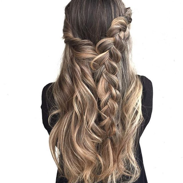 Top 100 boho hairstyles photos Perfection!  from the color done by @hairbykathynunez to the boho style created by @hairbyjessicaybarra ✨ #balayagehair #beyondtheponytail See more http://wumann.com/top-100-boho-hairstyles-photos/