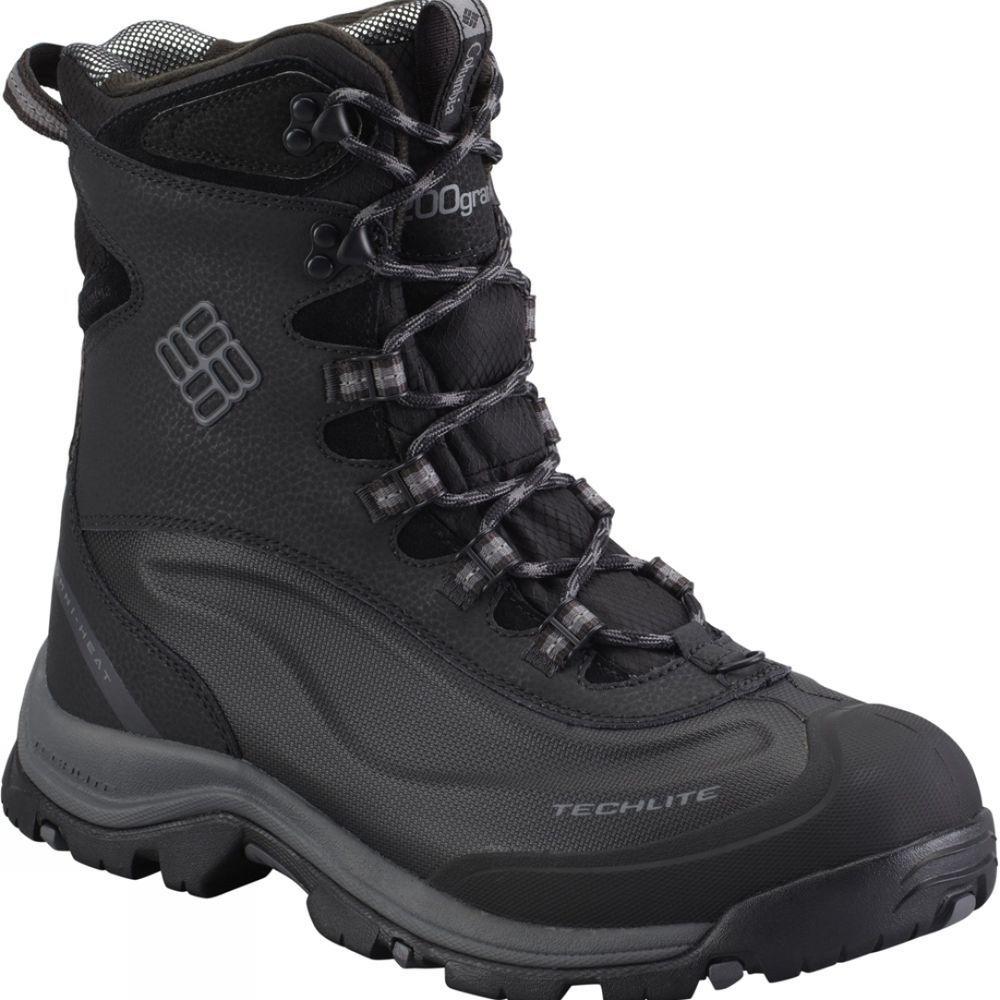 Zapatos negros Columbia Bugaboot para hombre I4z7C