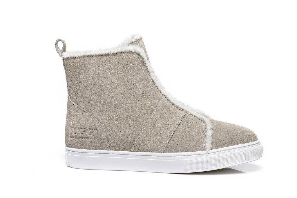 d7934b629cb AS UGG Side Zipper Ladies Mini Boots Nana #521001 | Shoes and Boots ...