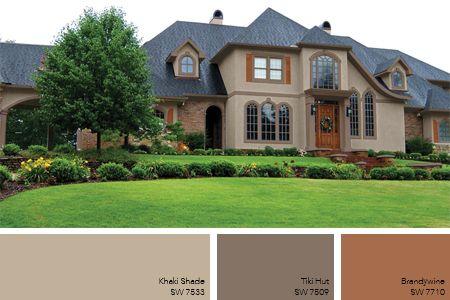 Neutral Exterior Home Color Paint Stain Pinterest Paint
