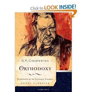 orthodoxy by gk chesterton