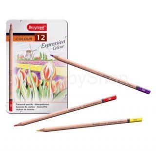 Farebné ceruzky Brynzeel Expression Colour - 12 ks
