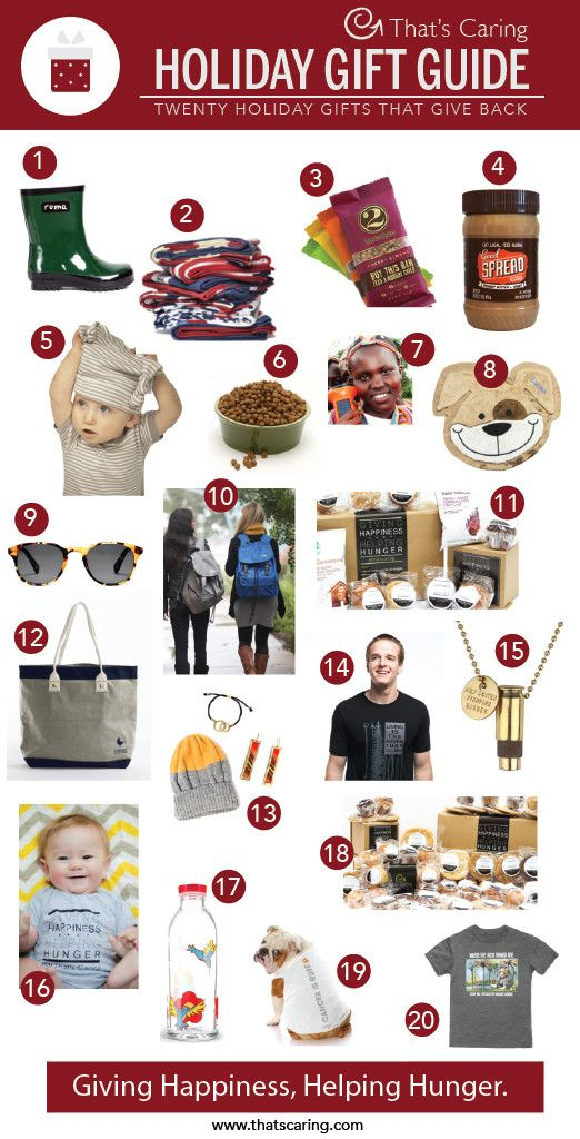 20 holiday gifts that give back gifts that give holiday presents