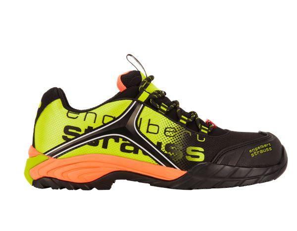 e.s. S1 Safety shoes Merak blackhigh vis yellowhigh vis