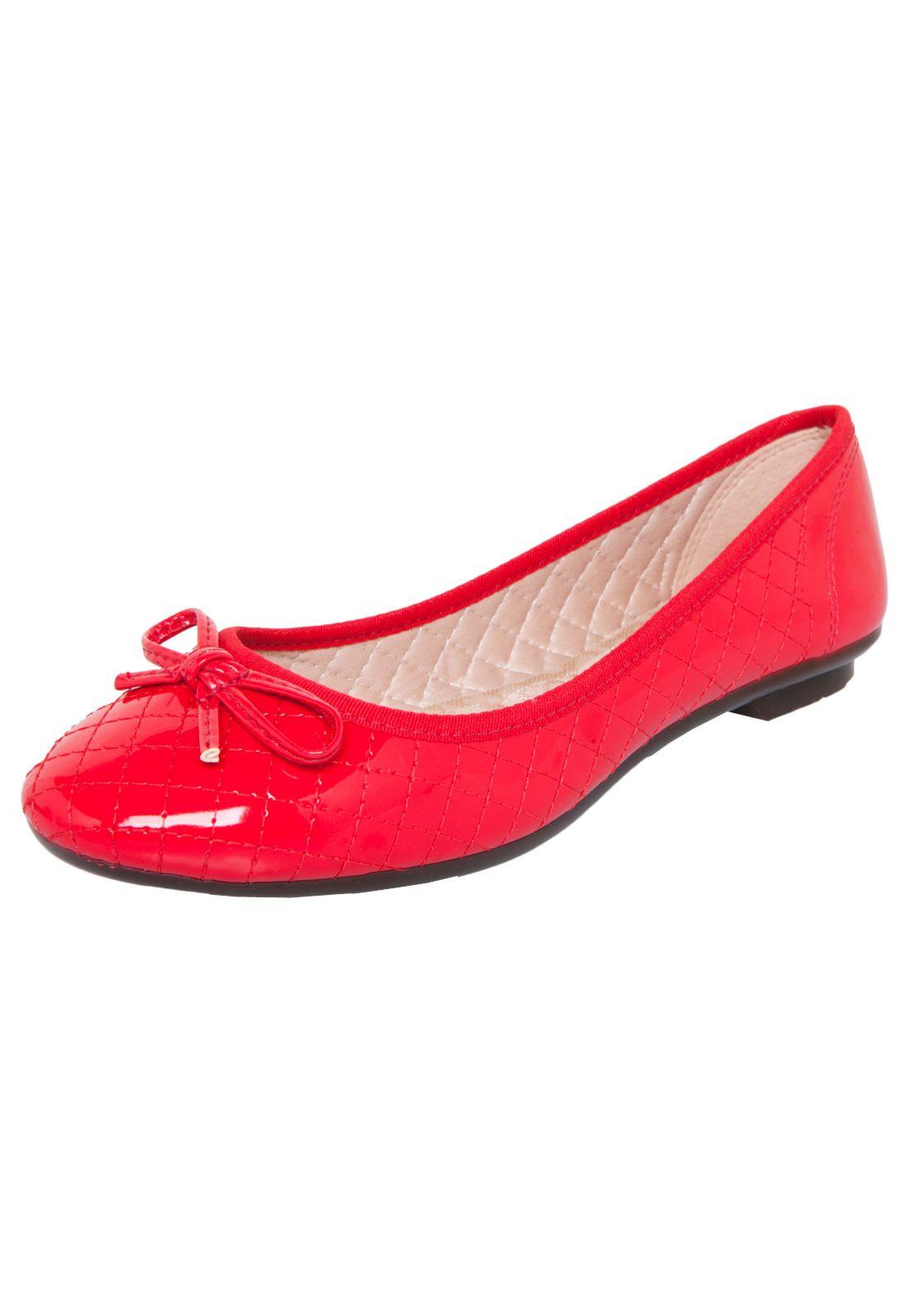 03a4bf13a Sapatilha Moleca Femini Vermelha | Zapatitos | Sapatilhas, Looks, Moleca