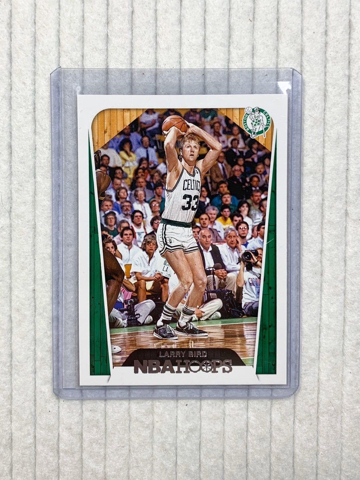 Nba larry bird boston celtics nba hoops basketball card