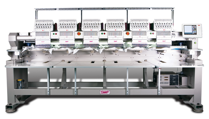 Swf k 1506c industrial embroidery system embroidery pricing tips