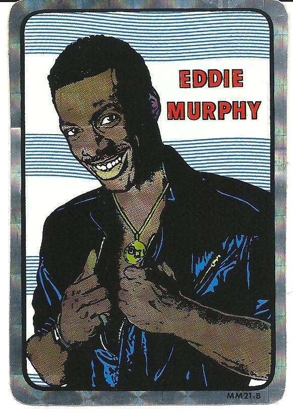 Rare vintage prism vending sticker eddie murphy ebay