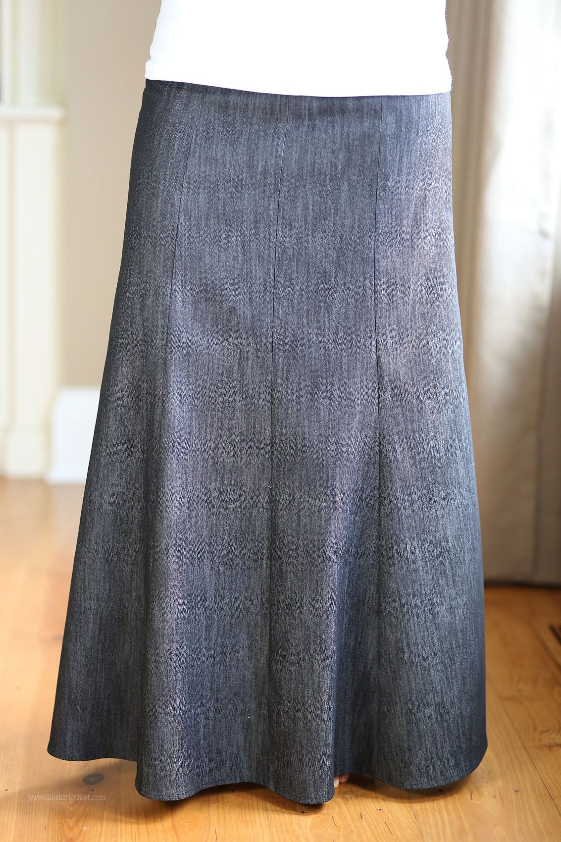 f1c67df96567a Simple Panels Modest Skirt