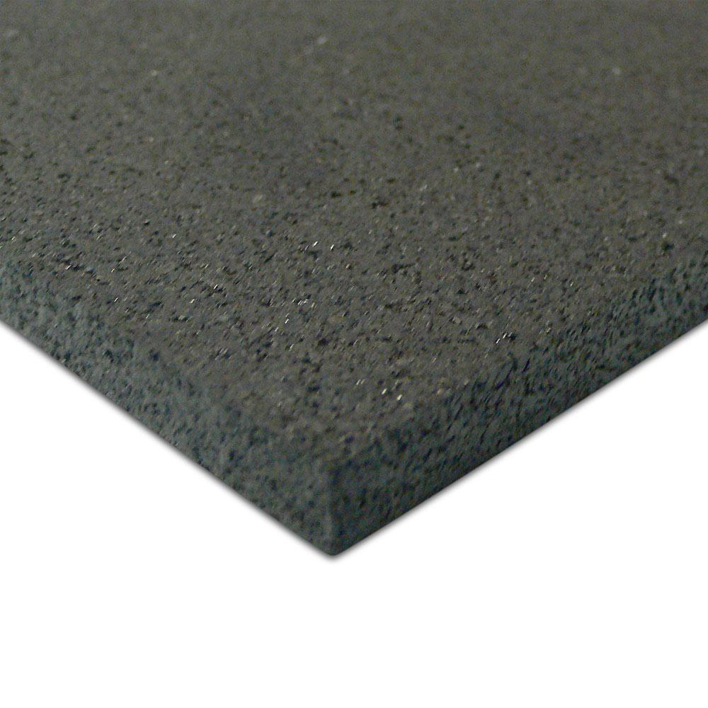 Rubber Cal Elliptical Mat 3 16 In X 48 In X 78 In Black Heavy Duty Rubber Mat 03 101 Wabc 06 5 The Home Depot Rubber Flooring Stall Matting Recycled Rubber