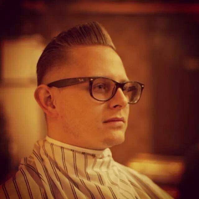 Trendy barber cut