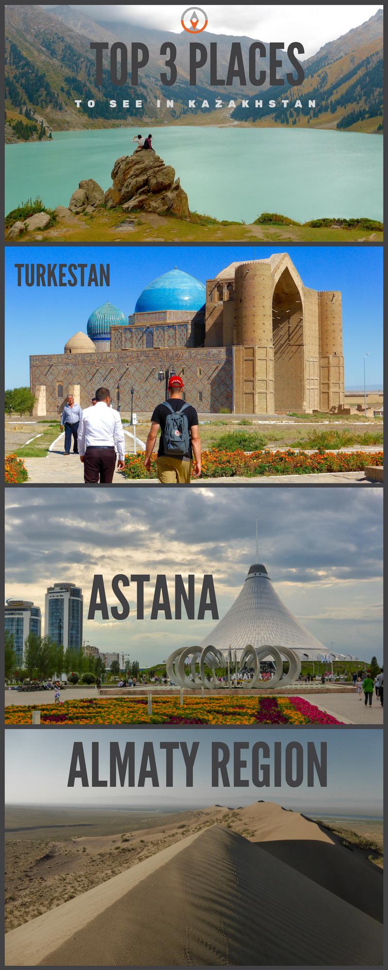 Kazakhstan Top 5 Places To Travel Viajes Kazajistan Lugares