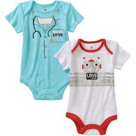 Unique Baby Boys Love You More Valentines Day Onesie Layette