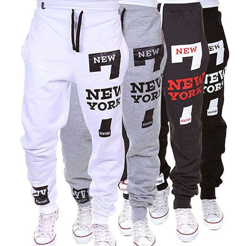 fb2d408f7175 Encontrar Más Pantalones de chándal Información acerca de M SXL hombres del  Basculador Danza Sportwear Baggy Pants Casual Pantalones de Chándal Dulce  Fresco ...