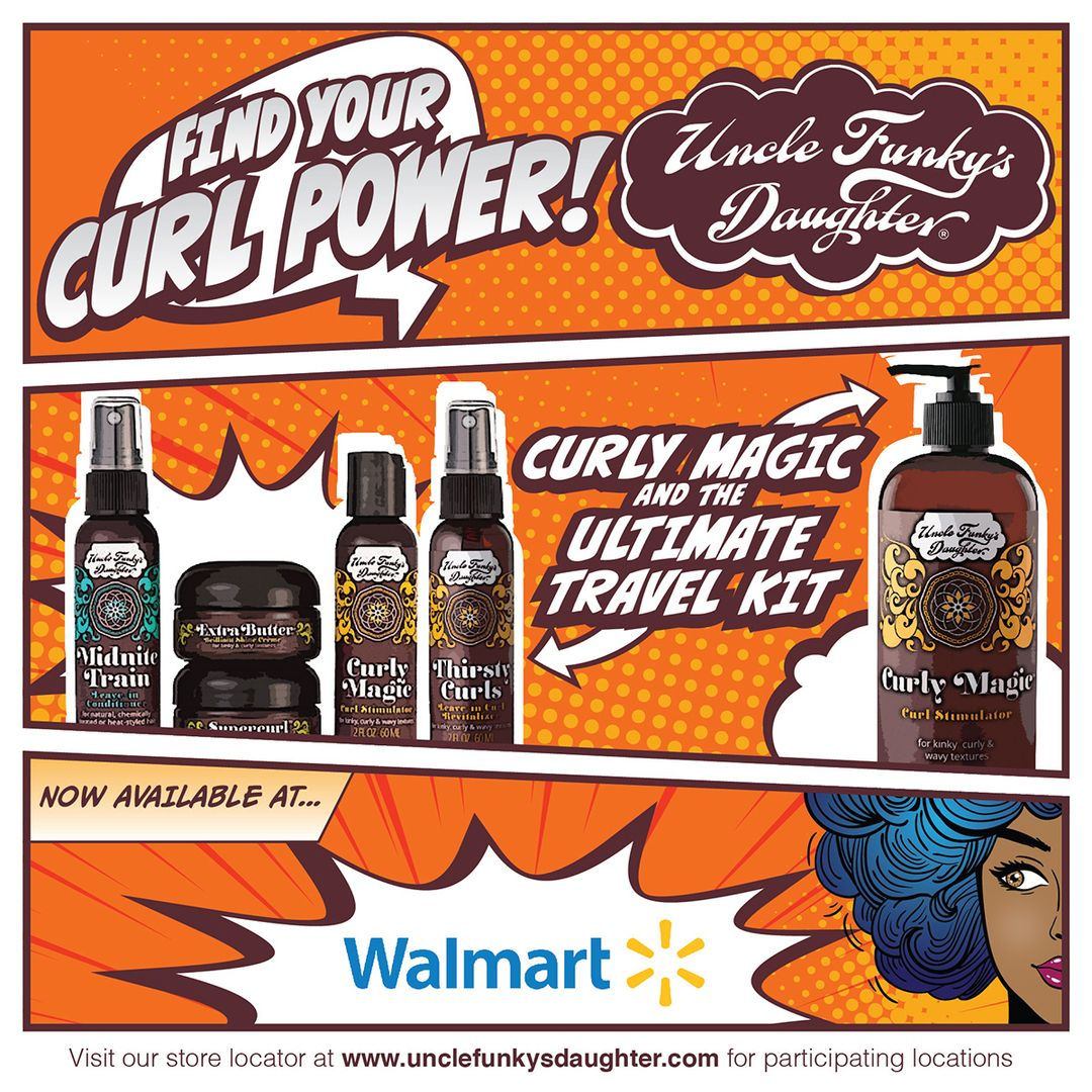 Find your curl power at walmart travel kits curls